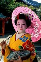 Maiko Girl Kyoto Japan