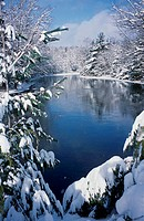 Mersey River Kejimkujik National Park Nova Scotia Canada