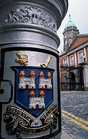 City Coat of Arms Royal Exchange Building Dublin Ireland