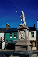Revolutionary Statue Wicklow Ireland