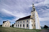 Low angle view of a church, USA