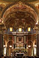 Madonna del Rosario Sanctuary Pompeii Italy