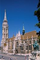 Matthais Church, Buda, Budapest, Hungary