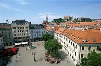 Old City Market Place, Bratislavia, Slovakia
