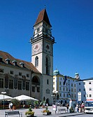 Town Hall, Passau, Lower Bavaria, Bavaria, Germany