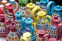 Ceramic Souvenirs. Positano. Amalfi Coast. Campania. Italy.