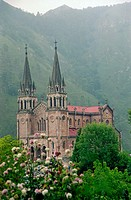 Sanctuary of Covadonga, Asturias, Spain