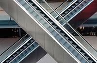 Escalators, Amsterdam. Holland
