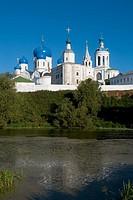 Monastery buildings, Bogoliubovo. Golden Ring, Russia