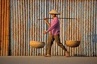 Woman. Hanoi. Vietnam