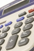 Close-up of a calculator