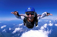 Skydiving, Titusville, Florida, USA