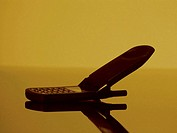 Flip-phone, close-up