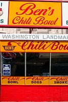Ben's Chili Bowl. Washington D.C. USA