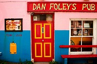 Dan Foley's pub. County Kerry, Ireland
