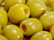 Spanish olives stuffed with pimento