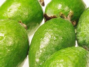 Close-up of guava