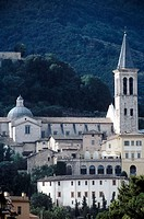 Spoleto. Cathedral. Umbria. Italy.