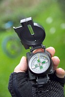 The mountainbikers' compass