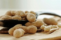 Peanuts, close-up