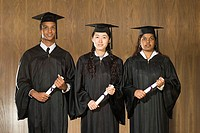 Student graduation ceremony