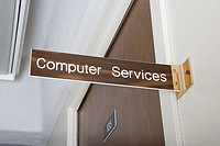 Computer services office