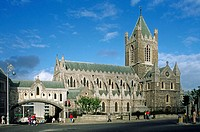 Christ Church. Dublin. Ireland.