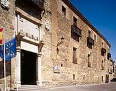 Palace of Fuensalida, Toledo. Castilla-La Mancha, Spain