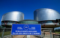 Human Rights Building. Council of Europe. Strasbourg. France