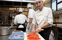 Cuisine School Luis Irizar. Donostia-San Sebastian, Gipuzkoa. Euskadi. Spain.