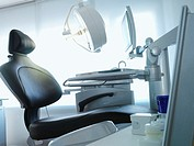 Fully-equipped dentist´s chair