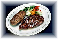 food, gastronomy, culinary, sirloin steak, dish