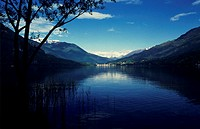 Lago di Mergozzo by Lake Maggiore, Lombary, Italy