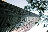 Low angle view of a building, Chicago, USA