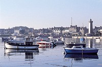 France, Brittany, Roscoff harbour