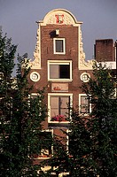 The Netherlands, Amsterdam, gabled house