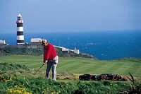 Ireland, Kinsale, Old Head golf