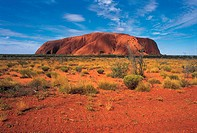 Australia, Uluru National park, Ayers rock
