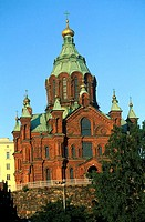 Finland, Helsinki, orthodox cathedral Uspensky
