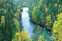 Finland, Oulanka national park, Kuusamo vicinity