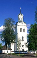 Sweden, Dalecarlia, Orsa church