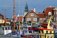 Denmark, Jutland, Skagen, the harbour