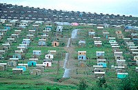 South Africa, Kokstad, townships