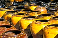Myanmar, Bagan, earthenware