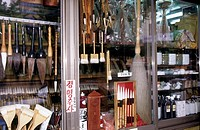 South Korea, Seoul, calligraphy shop