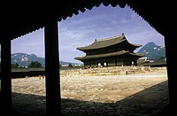 South Korea, Seoul, Kyongbokkung palace