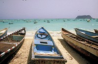 Yemen, Qana, boats on the beach