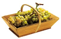 Basket of white grape