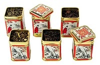Chinese tea boxes