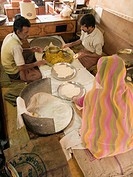 Food workers. Jodhpur, India